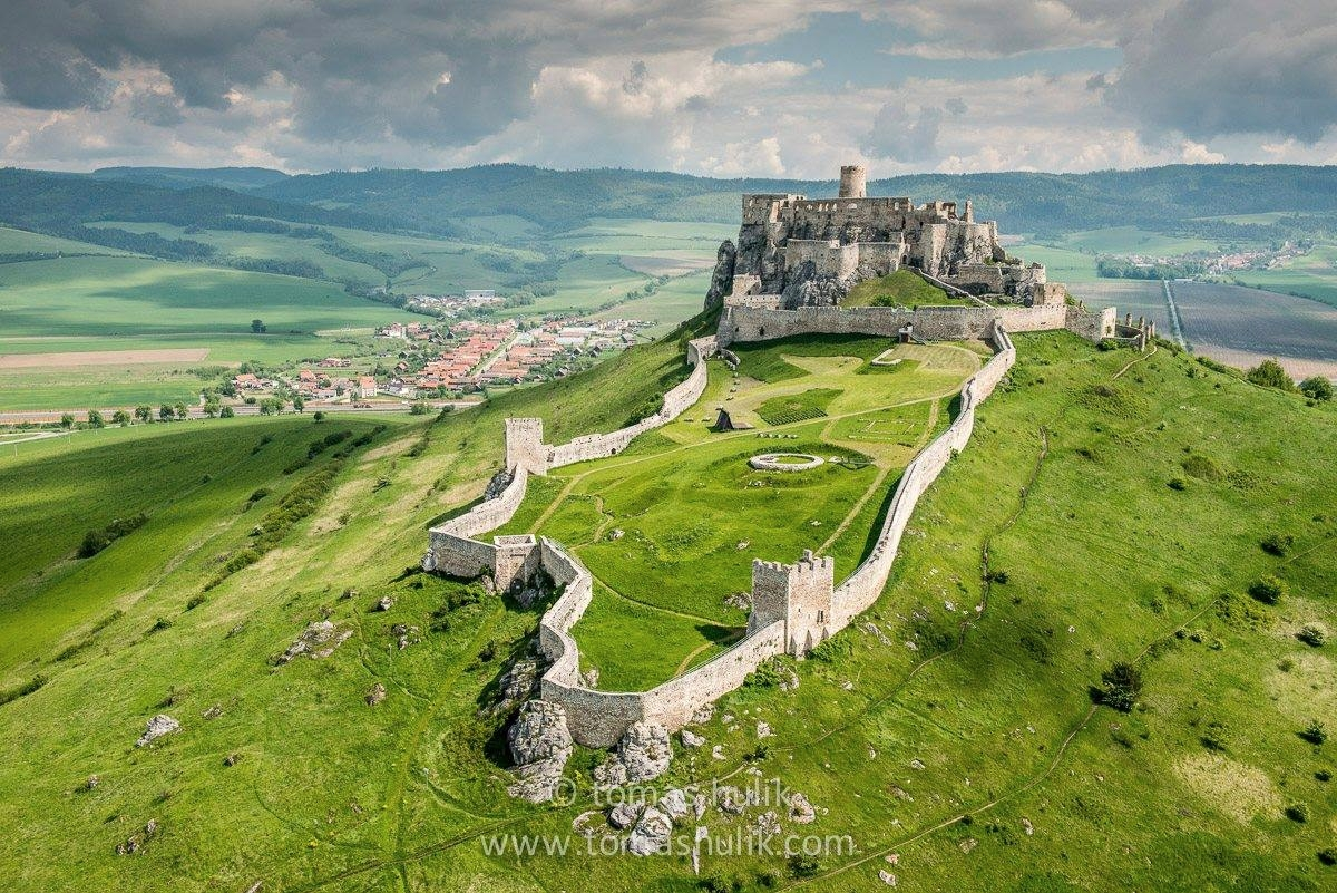 Beautiful Eastern Europe Spis Castle Slovakia