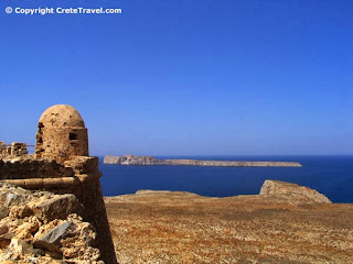 gramvousa crete greece