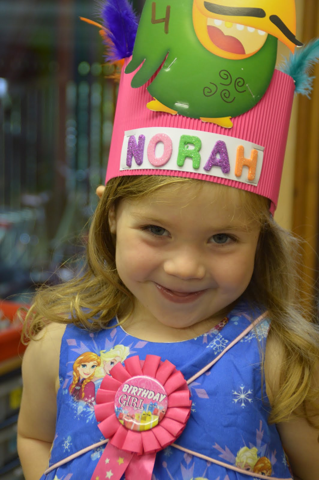 Norah is 4!!