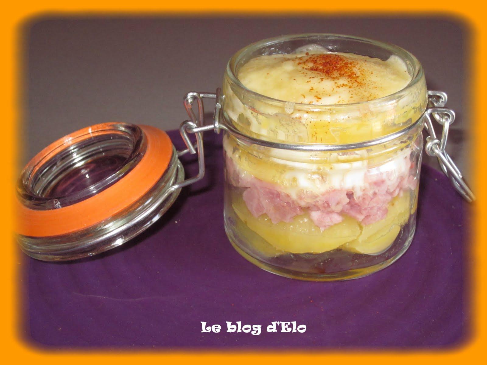 Le blog d 39 elo raclette en bocal - Recette de raclette originale ...