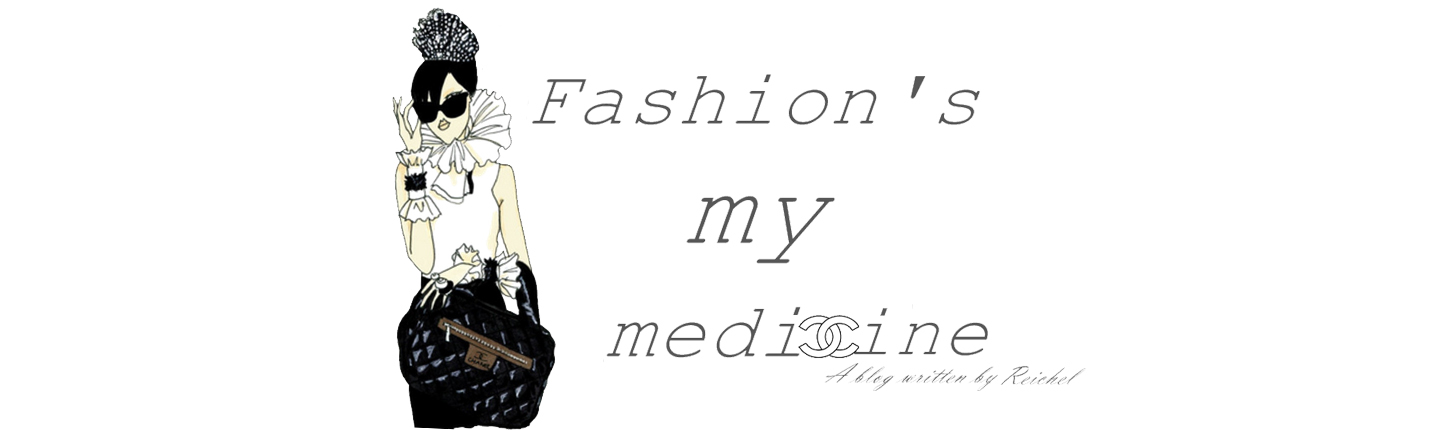 Fashion's my medicine