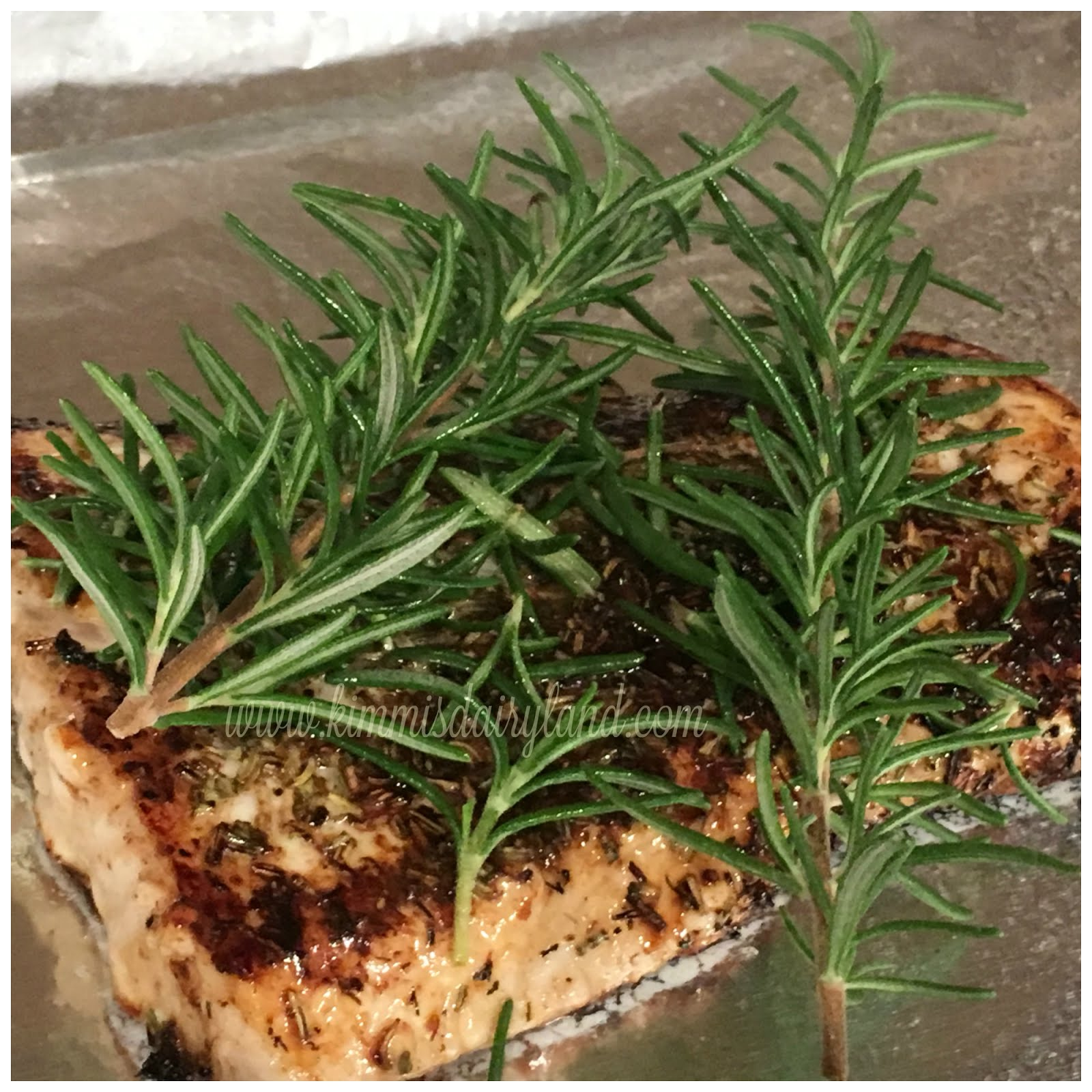 Rosemary Baked Halibut