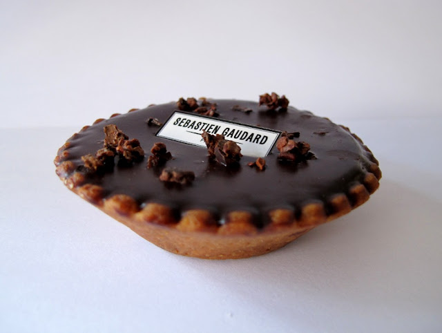 Les pâtisseries de Sébastien Gaudard - tarte au chocolat