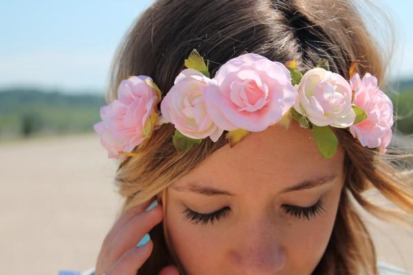 Headband Couronne fleurs
