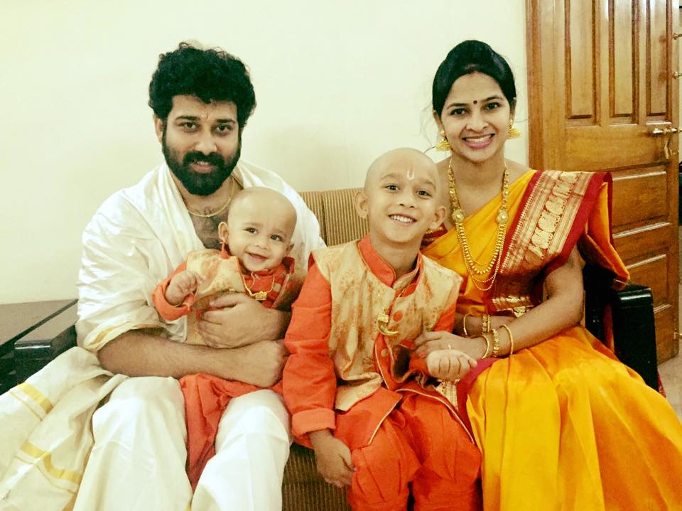 Actor Shiva Balaji Family