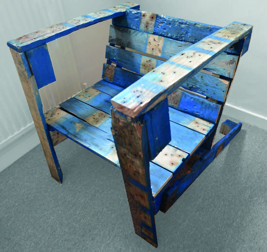 Edward dale harris homemade recycled furniture for Homemade furniture