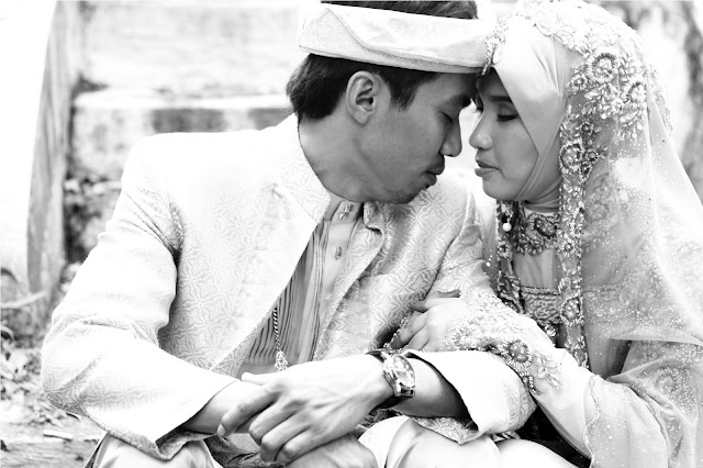 outdoor photoshoot taufik & farhana 7