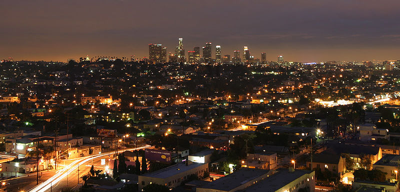 Los-Angeles-at-night