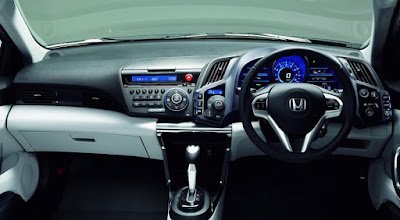 Interior Honda CR-Z Indonesia