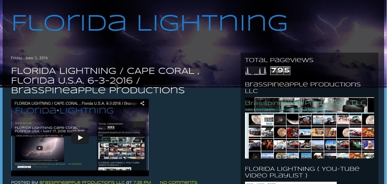 FLORIDA LIGHTNING PROJECT