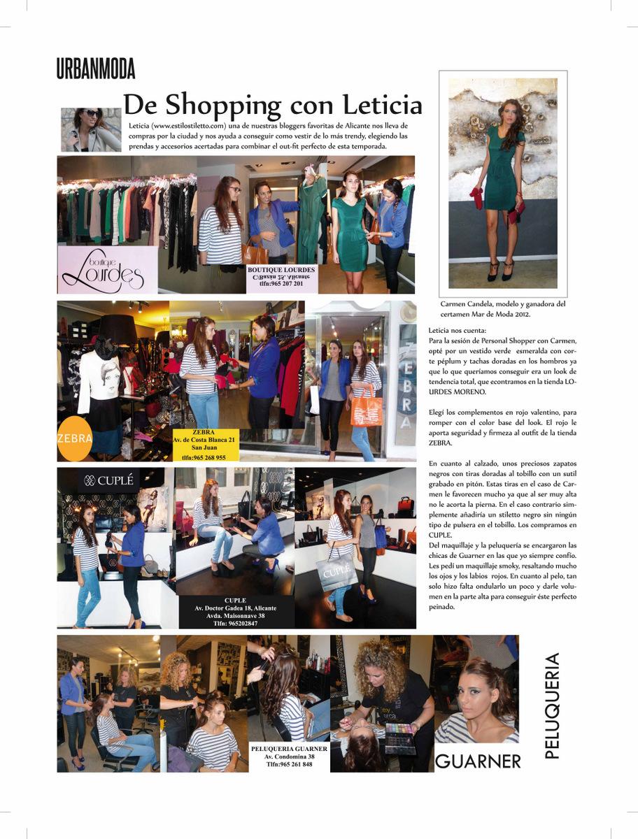 Sesi n personal shopper estilo stiletto by leticia p rez - Personal shopper alicante ...