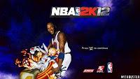 NBA 2K12 Space Jam Startup Screen Mod