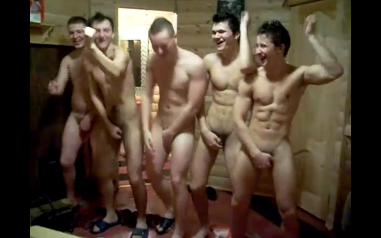 Nude Men Dancing 65