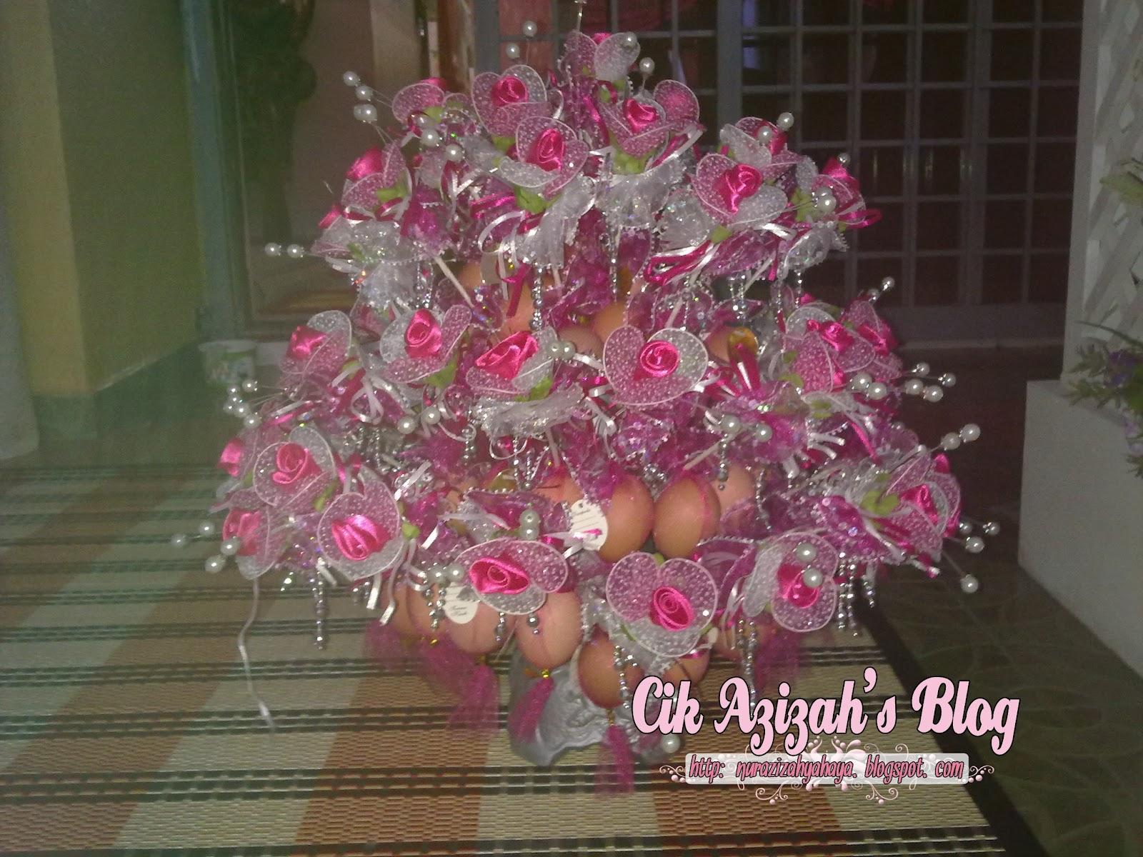 Cara Cara Membuat Bunga Telur Pink Daripada Kertas Crepe   Devdas ...