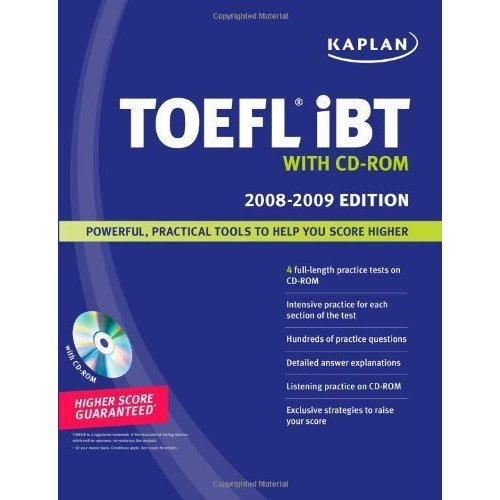 Kaplan TOEFL iBT with CD-ROM