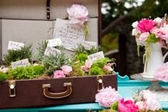 FLOWERS SUITCASE