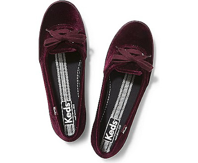 Tea Velvet Keds Shoes