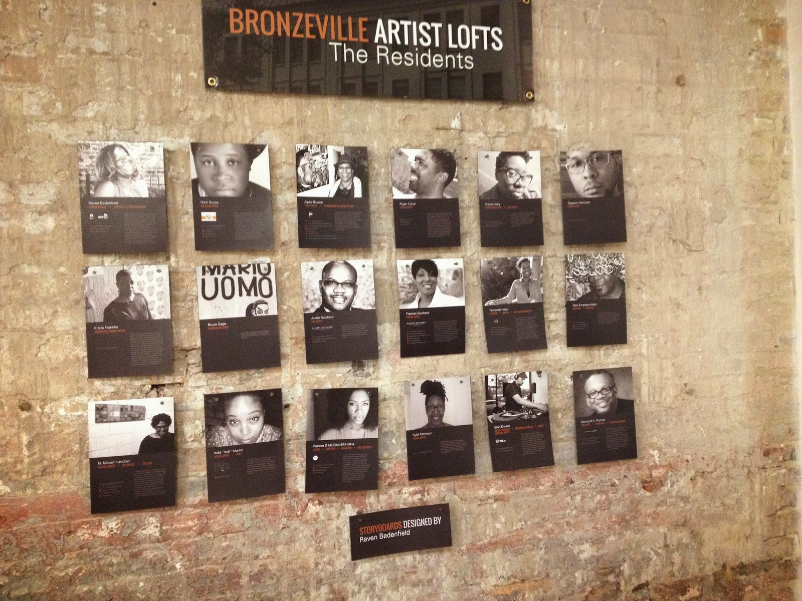 Bronzeville Artists Lofts Residents