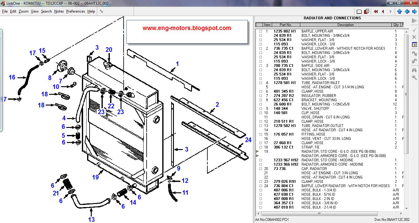 Komatsu Linkone 7 2011 D41p Wiring Diagrams