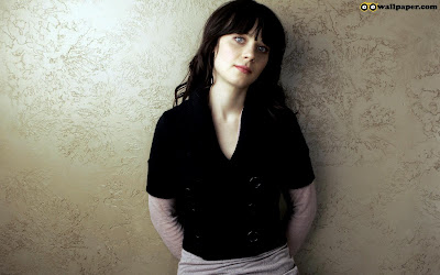Zooey Deschanel Lonely Wallpaper