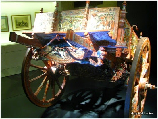 horse cart from russia