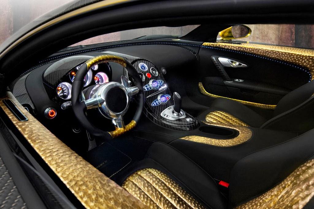Imagen del lujoso Bugatti Veyron Vincerò