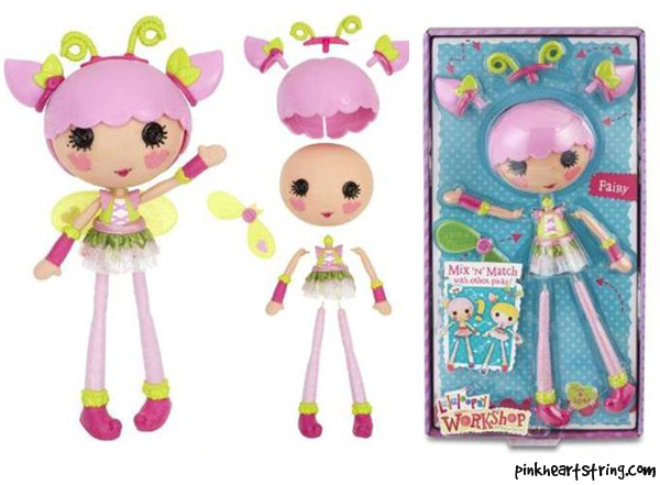 Lalaloopsy Workshop Fairy Pack Playset