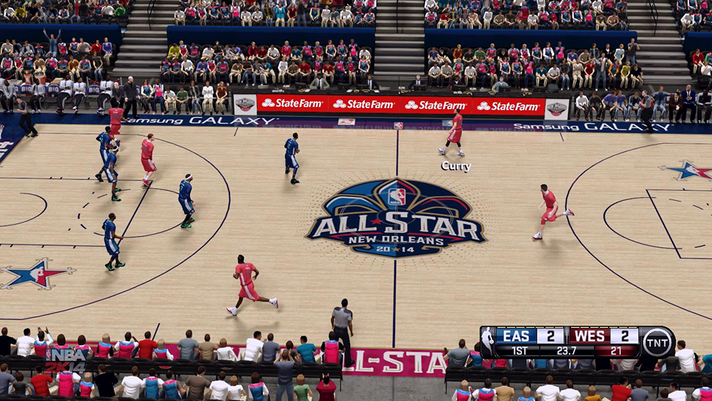 New Orleans All-Star Game Event 2014 Court