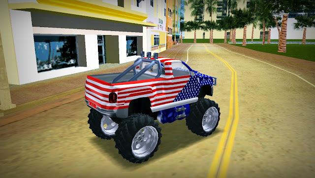 Chevrolet Silverado American Monster Truck GTA Vice City