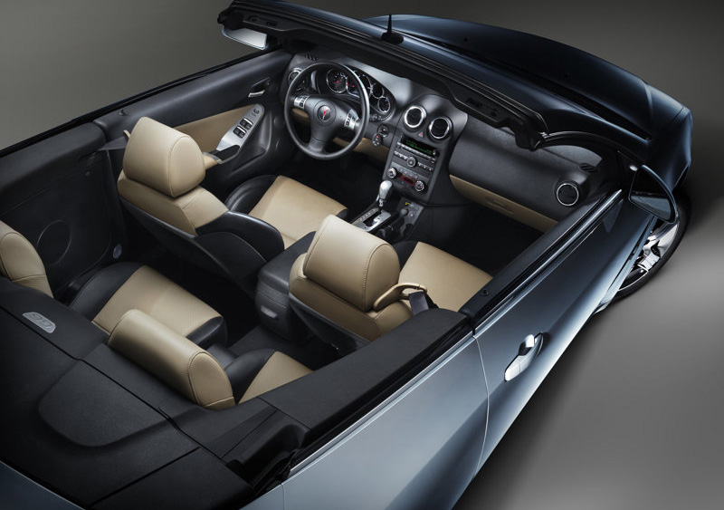 power cars pontiac g6 convertible 2009. Black Bedroom Furniture Sets. Home Design Ideas