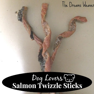 Dog Lovers Salmon Twizzle Stick