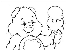 Care Bears Coloring Pages To Print Free