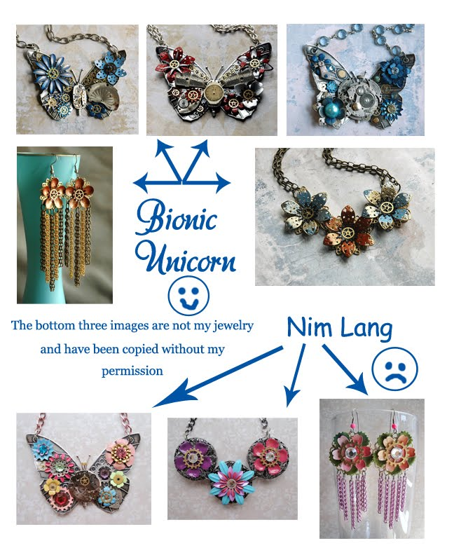 Bionic Unicorn Crystal Jewelry Nim Lang Jewelry Copies Bionic Unicorn