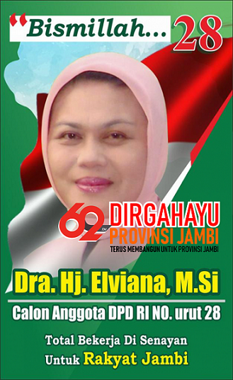 Elviana Untuk Provinsi Jambi