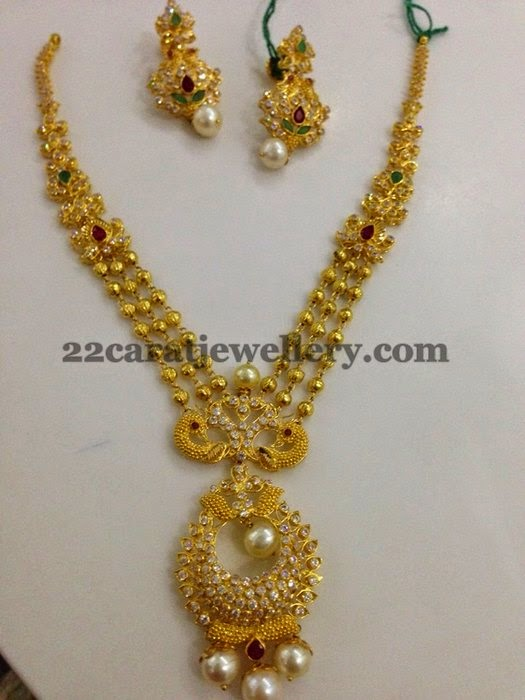 cz uncut necklaces for kids and all ages jewellery designs