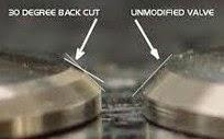 Cara dan Efek Modifikasi Klep Back Cut Valve