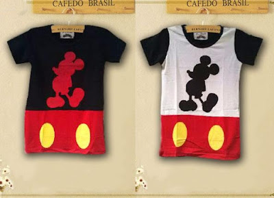 Atasan Kaos Shadow Mickey - 9995