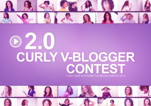 2.0 Curly VBlogger Facebook Contest