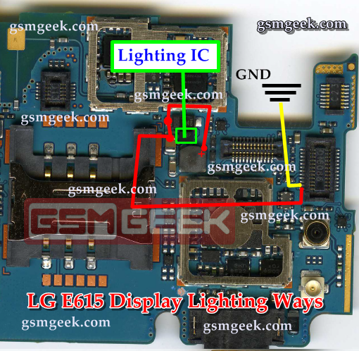 LG Optimus L5 Dual E615 Display Lighting Solution