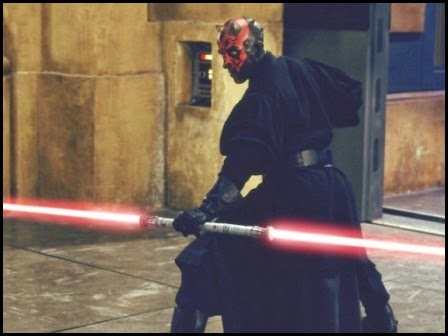 "Darth Maul en ""La amenaza fantasma"" (1999)"
