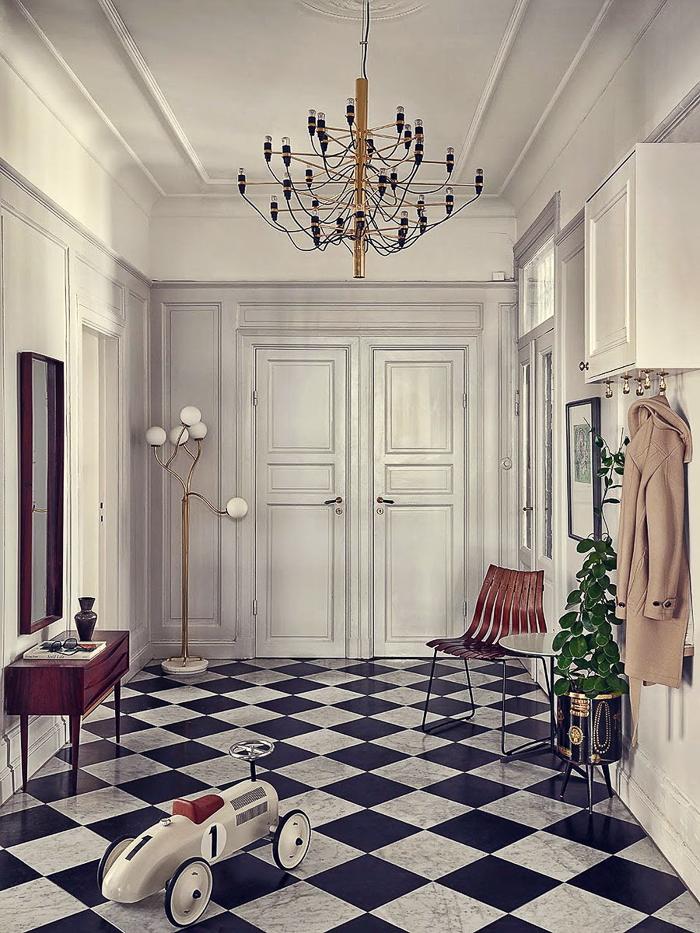 Decoración estilo nórdico piso de la estilista Joanna Lavén