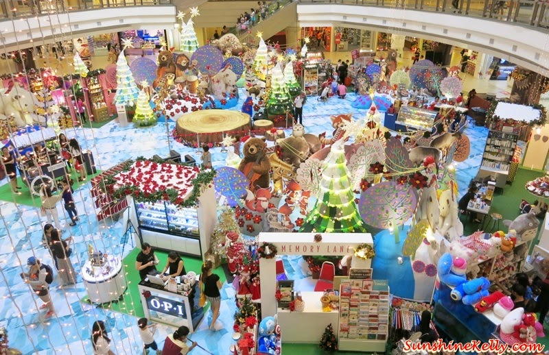 A Rustic Woodland Christmas, Love & Joy, 1 Utama, Christmas 2014, Christmas Deco in Shopping Mall