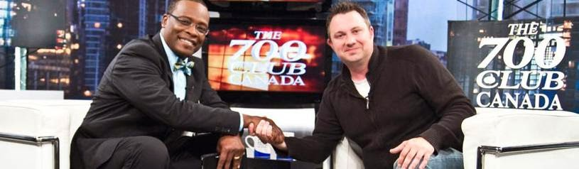 Dave's Week on the 700 Club Canada