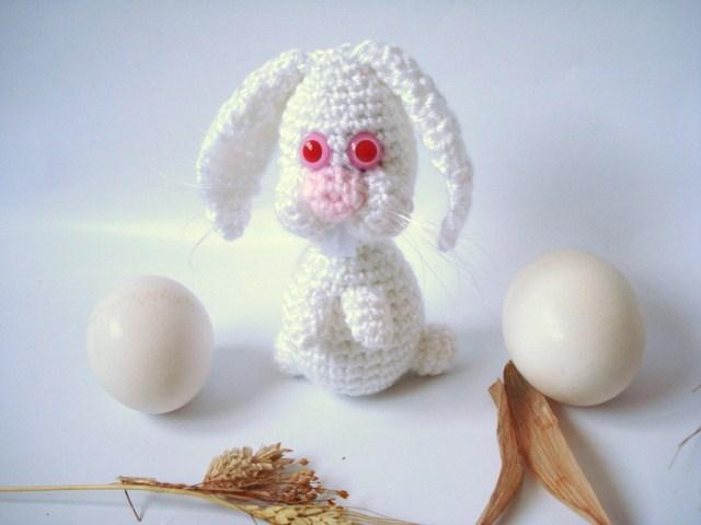 AllSoCute Amigurumis: Albino White Bunny, Rabbit Pattern ...