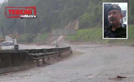 Tanah Runtuh: Pemandu Lori Terima Padah Setelah Hilang Sabar
