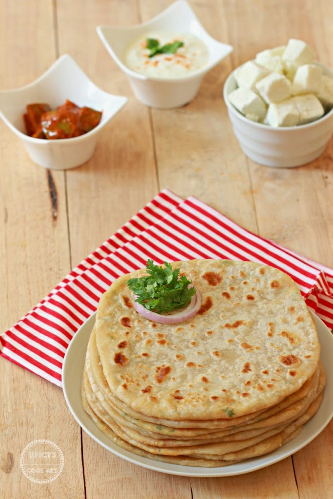 Stuffed Indian Flat Bread