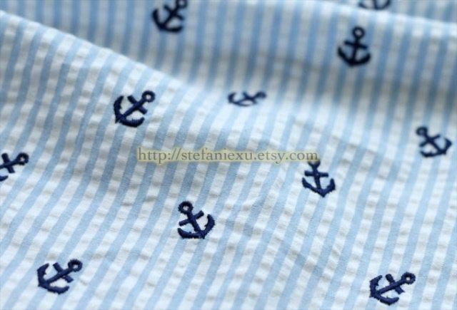 Nautical Anchor Fabric3