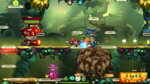 Awesomenauts Overdrive Expansion PC Game Free Download