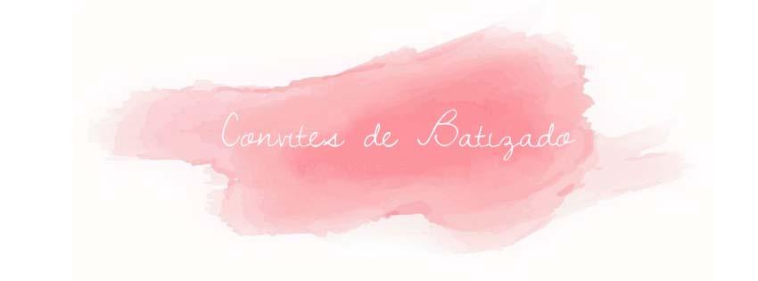 Convites de Batizado