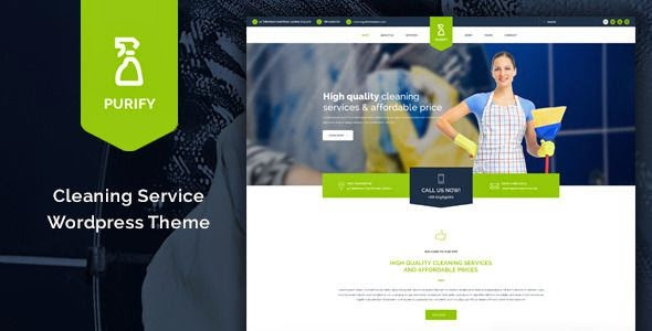 Best Cleaning Service WordPress Theme